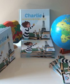 Découverte - Charlie au secours de la Tour Eiffel - Tome 1