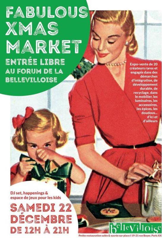 Fabulous Xmas Market #2 – 22/12/2018